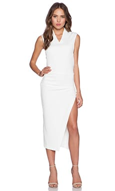Maurie & Eve Savino Dress in Bianco