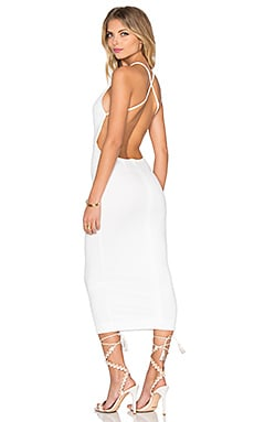Kahlo Dress in White