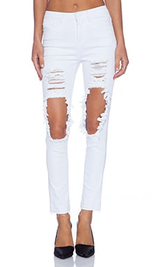 Maurie & Eve Space Skinny Jean in White