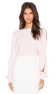 Maurie & Eve Farrow Sweater in Pink Prism