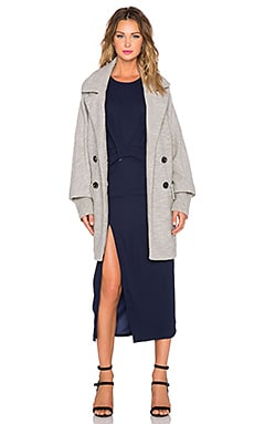 Maurie & Eve Riley Coat in Ghost Grey