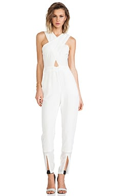 Glow Jumpsuit in Seashell