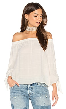 Off Shoulder Tie Top