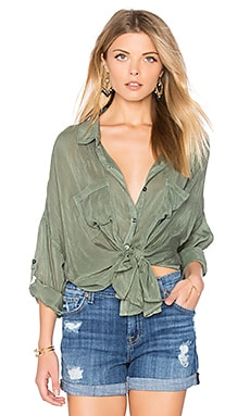 Chloe Button Up in Olive