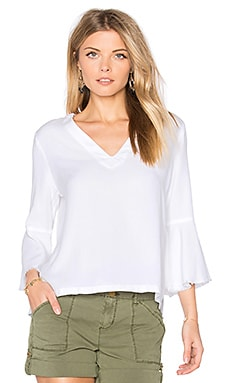 Roxy Frayed Top