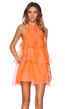 May. Joy Dress in Orange