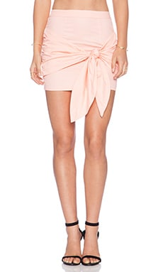 May. Luxury Skirt in Peach