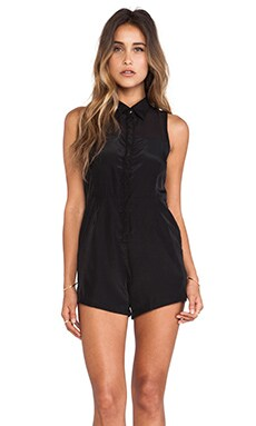 May. Advantage Playsuit in Black
