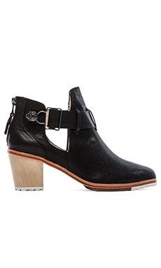 Matt Bernson Alpha Bootie in Black Rebel