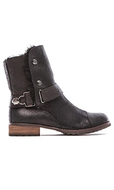Matt Bernson Tundra Boot with Sheep Shearling in Black