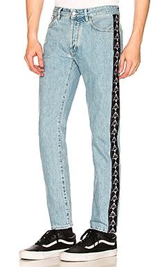 x Kappa Blue Antifit Jeans Marcelo Burlon $261