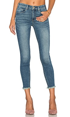 Newton Unfinished Hem Crop Skinny