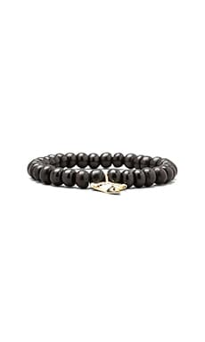 M.Cohen Shark Tooth Bracelet in Brown