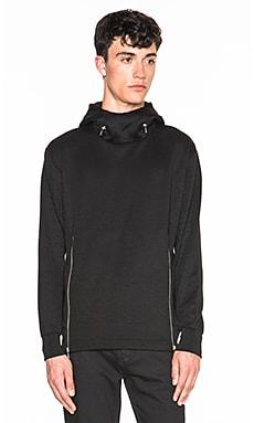 McQ Alexander McQueen N2B Hoodie in Darkest Black