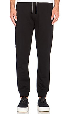 McQ Alexander McQueen Jogging Sweatpant in Darkest Black