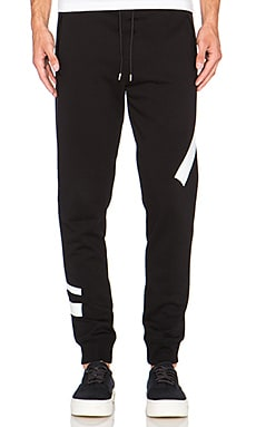 McQ Alexander McQueen Sweatpant in Darkest Black