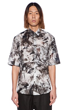 McQ Alexander McQueen S/S Pocket Shirt in Plaster Squat House
