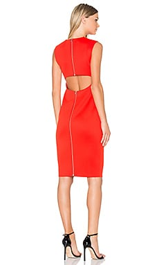 Cut Out Back Midi Dress