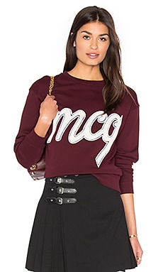 Classic Sweatshirt in Port