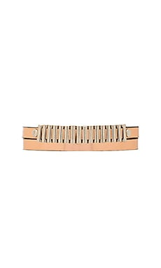 Mini Bullets Wrap Bracelet in Rose Gold