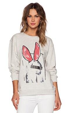 McQ Alexander McQueen Classic Sweatshirt in Snow Melange