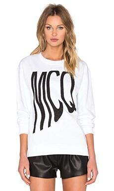 McQ Alexander McQueen Classic Sweatshirt in Grey Melange