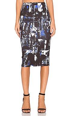McQ Alexander McQueen Contour Skirt in Richter