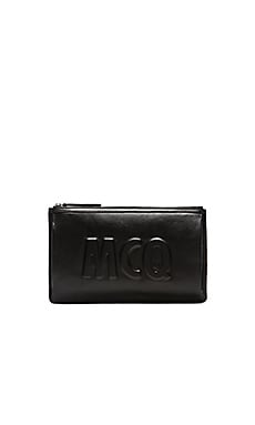 McQ Alexander McQueen Kicks Clutch in Black