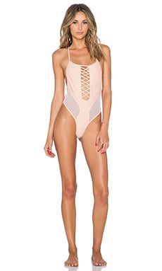 MANDALYNN Christie Swimsuit in Bermuda Sand