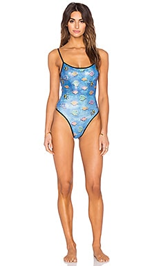 MANDALYNN Joey Swimsuit in Rainbow Fish