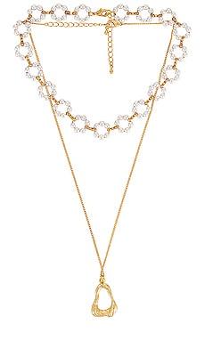 Eleanor Necklace Set MEADOWE $24 (FINAL SALE)