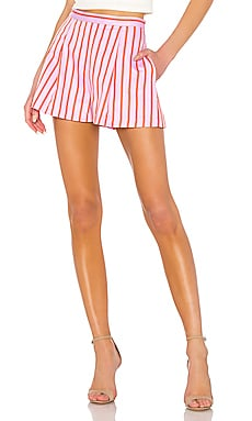 Pleated Short MDS Stripes $121