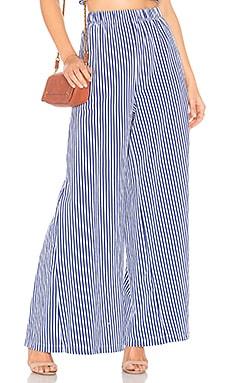 Купить Юбку-брюки pia - MDS Stripes синего цвета