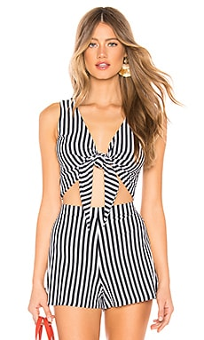 Clair Tie Tank MDS Stripes $75