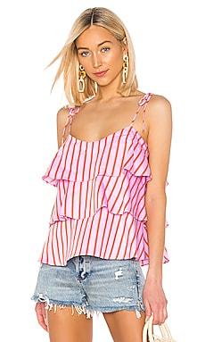 Tiered Cami MDS Stripes $102