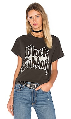 Black Sabbath Tee in Dirty Black