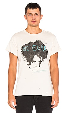 Madeworn The Cure Tee in Dirty White
