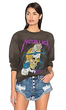 Metallica 1988 Pullover in Dirty Black