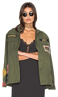 The Ramones Jacket in Army