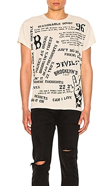 x Roc96 All Over Lyrics Tee