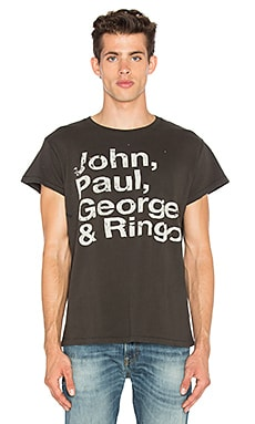JOHN PAUL GEORGE AND RINGO T恤