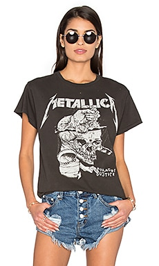 Metallica Harvester Tee in Dirty Black
