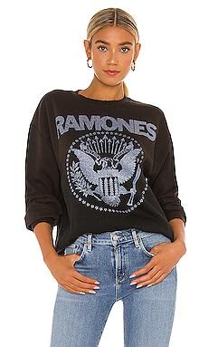 SUDADERA RAMONES Madeworn $198 NUEVO