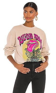 x REVOLVE Rolling Stones Sweatshirt Madeworn $195