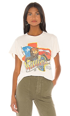 X REVOLVE Willie Nelson Canadian Tour Tee Madeworn $161