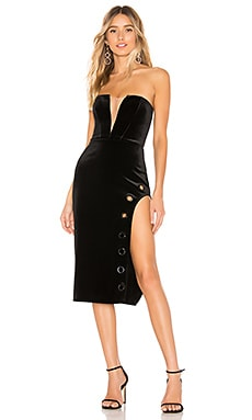 x REVOLVE Priscilla Midi Dress Michael Costello $49 (FINAL SALE)