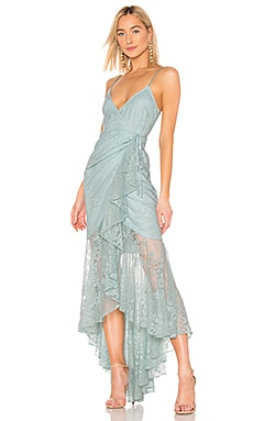 X REVOLVE Atienne Dress Michael Costello $378 BEST SELLER