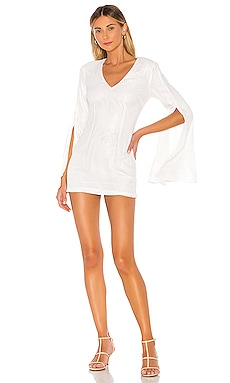 x REVOLVE Moseley Mini Dress Michael Costello $258 NEW ARRIVAL