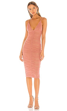 ROBE MI-LONGUE FIJI Michael Costello $168 BEST SELLER