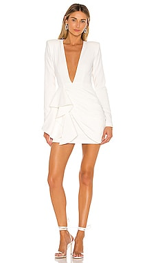 x REVOLVE Fena Mini Dress Michael Costello $218 NEW ARRIVAL